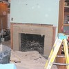 OLD BASEMENT FIRPLACE BEFORE