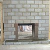 FIREPLACE BEING REBUILT AFTER FIRE. ALL BACK UP ON THIS SEE THROUGH FIREPLACE IS COMPLETE.<br /> CULTURE STONE TO BE APPLIED BY HOMEOWNER