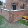 Brick pier rebuild