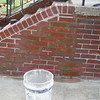 Step wing wall repair