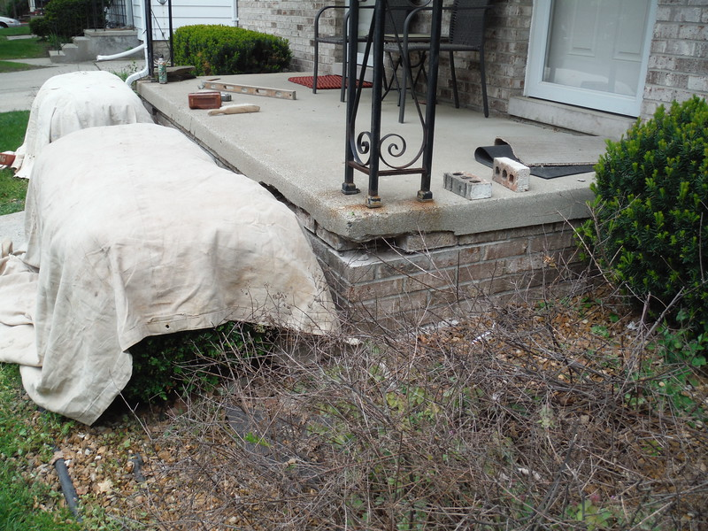 Brick,mortar,step repair/replacement
