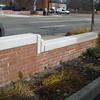 Parking lot wall repair