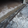 Partial garage floor replacement