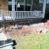 Brick replacement on front porch