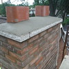 Chimney is complete. Brick will be washed tomorrow and scaffold will be tore down