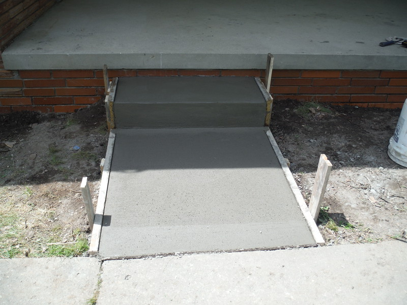 Porch, step and walk replacement
