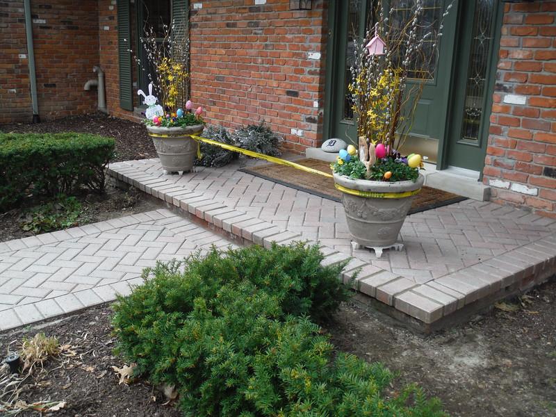 Paving brick repair