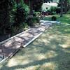 Exposed aggregate sidewalk