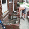 Porch, step and walk complete replacement