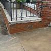 Brick, step and walk replacement on front porch