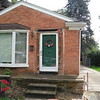 Porch, steps and brick around front door will be replaced