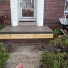 Exposed aggregate porch