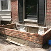 NEW BRICK ON FRONT PORCH WITH ROOM UNDERNEATH