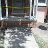 Front porch brick and step replacement