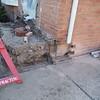 Porch, step and brick around door replacement