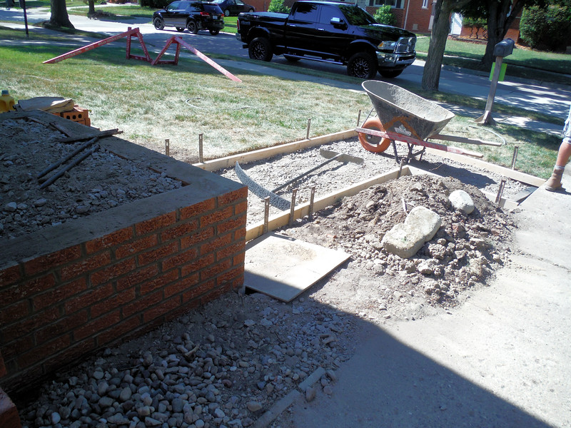 Porch , step and walk replacement