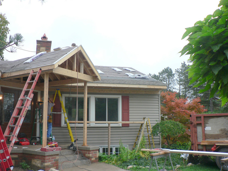 ROOF READY FOR SHINGLES
