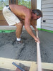 SCREEDING THE CONCRETE