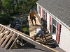 SHEATHING ON SHED ROOF