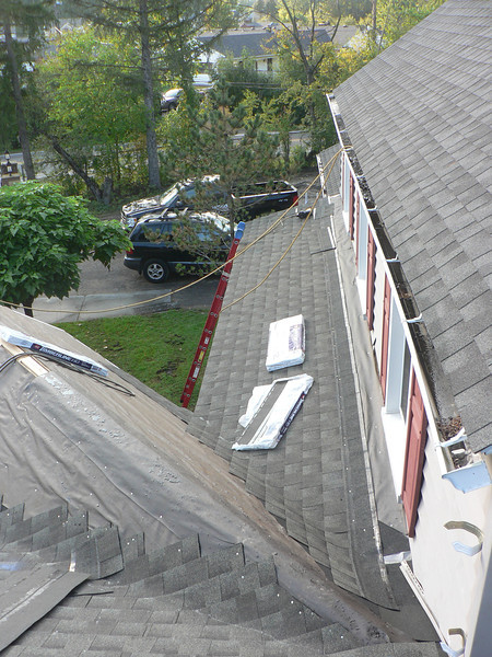 SHINGLES ALMOST COMPLETE