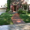 BRICK SIDEWALK AND PORCH