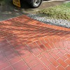 THIS PICTURE SHOWS THE COLOR MATCH BETWEEN THE OLD AND NEW BRICK.
