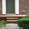 NEW BRICK PORCH AND STEPS