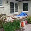 LAYING BRICK EDGING FOR PAVING BRICK PORCH