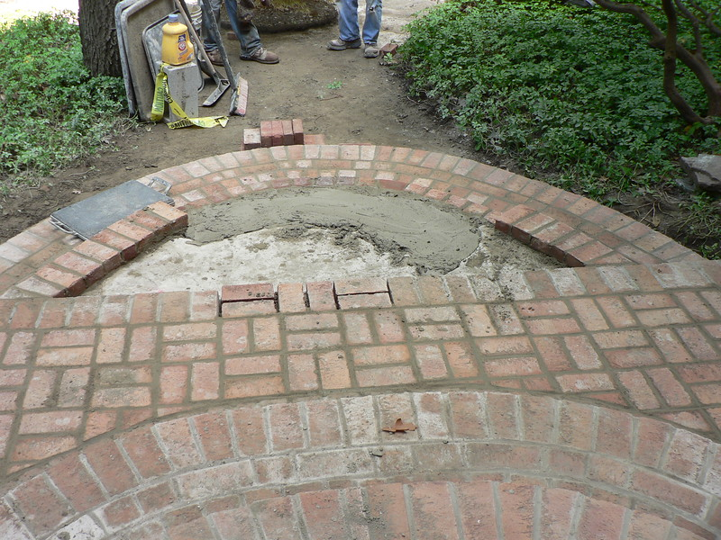 NEW PAVING BRICK ENTRANCE TO FRONT DOOR INCLUDING STEPS, WALKS AND LANDING