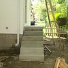 SOLID CONCRETE STEPS