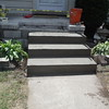 Step replacement / porch repair / exposed aggregate
