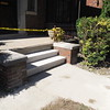 Limestone step replacement