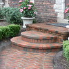 PAVING BRICK RADIUS STEPS
