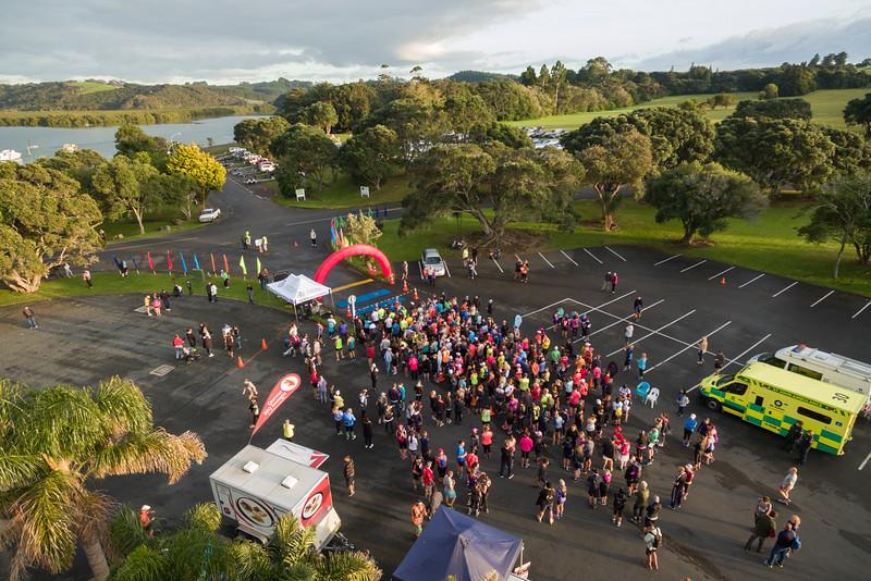 Paihia Half Marathon 2016 Aerial-11