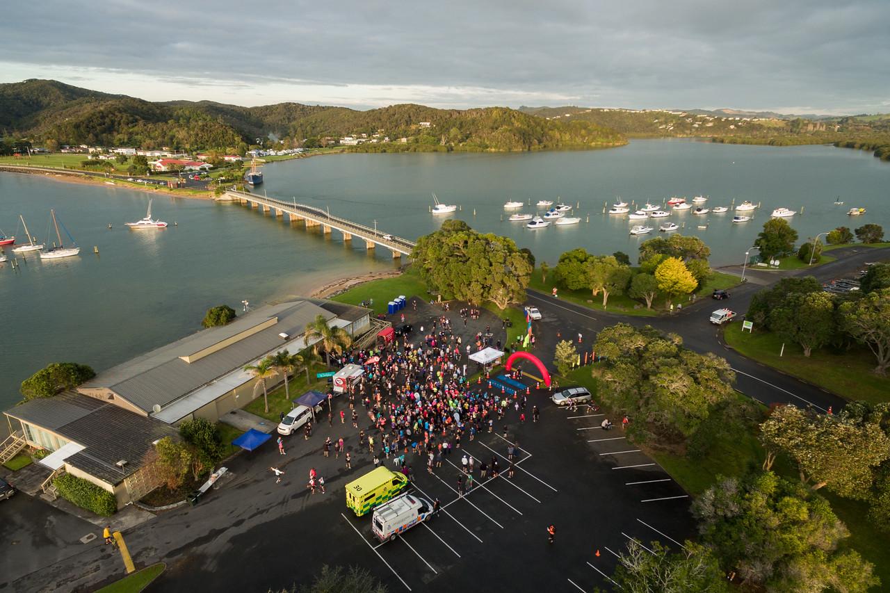 Paihia Half Marathon 2016 Aerial-2