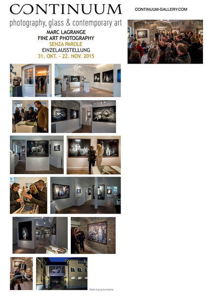 CONTINUUM GALLERY Königswinter - Vernissage Marc Lagrange (2015)