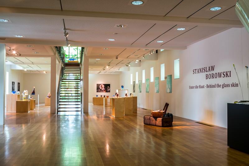 Ernsting Stiftung - Glasmuseum Coesfeld - Retrospektive Stanislaw Borowski 2017