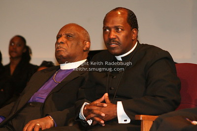 Bishop Emeritus Charles Johnson (Left), Superintendent Derrick Hutchins (Left). IMG_6665