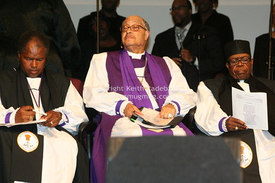 Bishop Roosevelt Dunn (Center), Superintendent Charles Scurles (Left), Superintendent William Harris (Right). IMG_6652