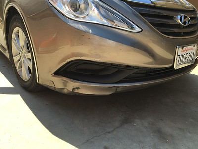 SONATA FRONT END DAMAGE