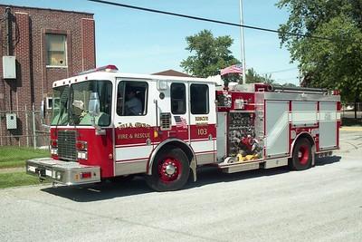 Villa Grove Engine 103