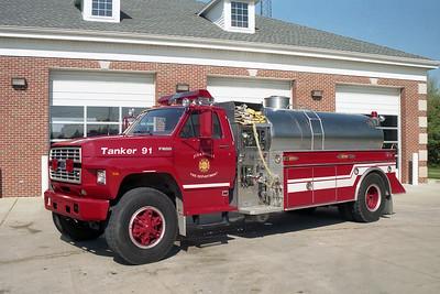Zionsville IN Tanker 91
