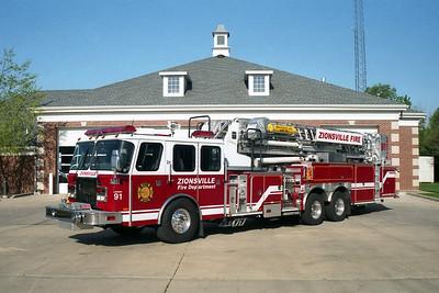 Zionsville IN Ladder 91
