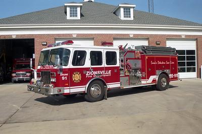 Zionsville IN Engine 91