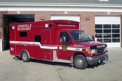 Zionsville IN Medic 91