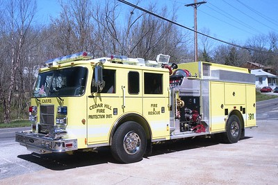Cedar Hill FPD MO Engine 7710A