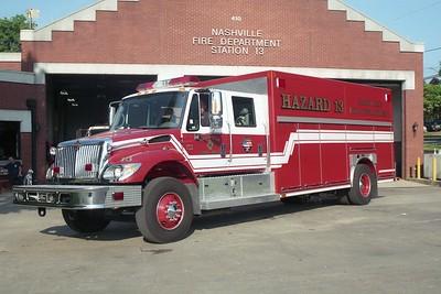 Nashville TN Haz Mat 13
