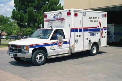 San Angelo TX Medic 1