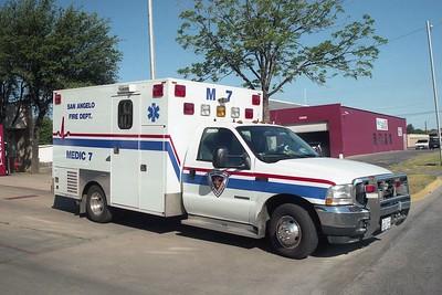 San Angelo TX Medic 7A