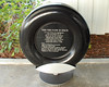 One of the rear tires from Shuttle mission STS-63. Hover over the top right of photo to choose larger size for easier reading of plaque.